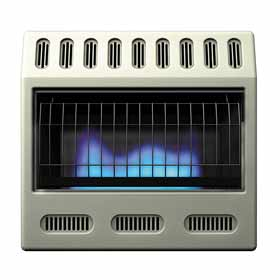 Propane gas heater